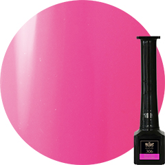 【B306】Electric Pink【Gel Polish】