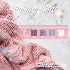 【F260-F263】Warmy Knitシリーズ4色